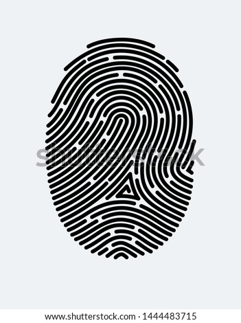 fingerprint icon cyber