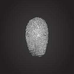 Fingerprint Icon 3D