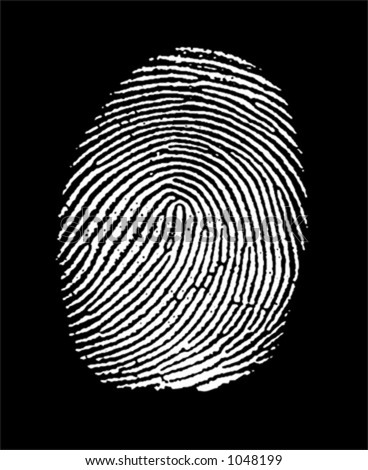 fingerprint in negative (white part is transparent, you can change color of the black part)