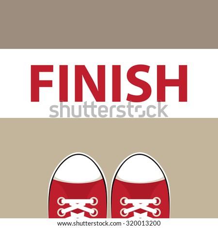 finish illustration
