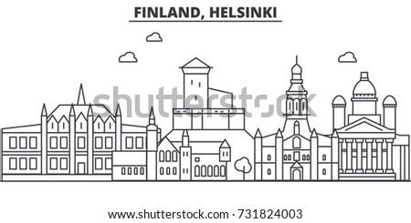 finland  helsinki architecture