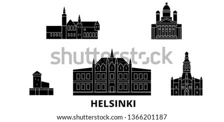 finland  helsinki flat travel