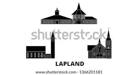 finland  lapland flat travel
