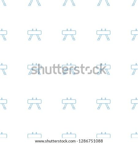 fintess equipment icon pattern seamless white background. Editable line fintess equipment icon. fintess equipment icon pattern for web and mobile.