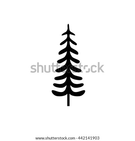 Royalty Free Stock Photos And Images Fir Tree Symbol Vector Tree