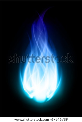 fire ball flame burn vector