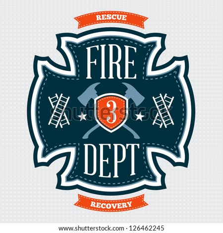 fire department emblem crest