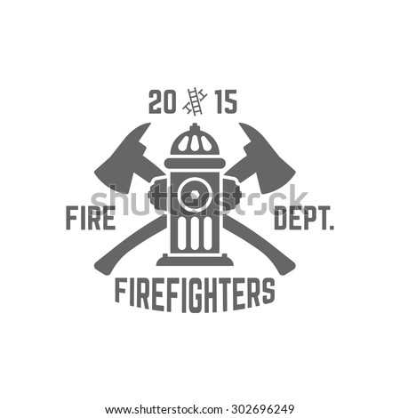 fire department monochrome