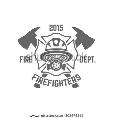 fire department monochrome