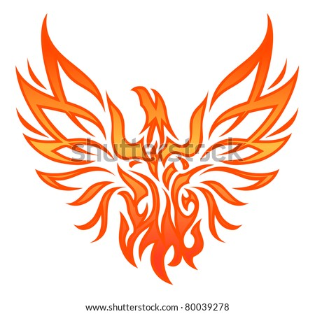 Fire Eagle Tattoo