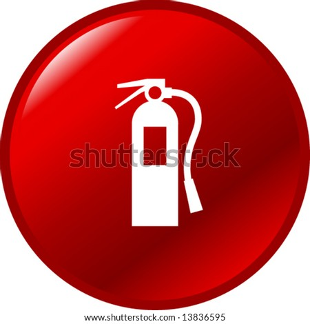 fire extinguisher button