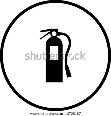 Fire Extinguisher Drawing Symbol Gallery Free Symbol And Sign Meaning