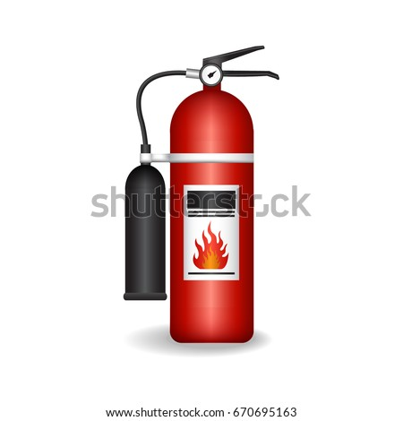 fire extinguisher Vector.icon.logo