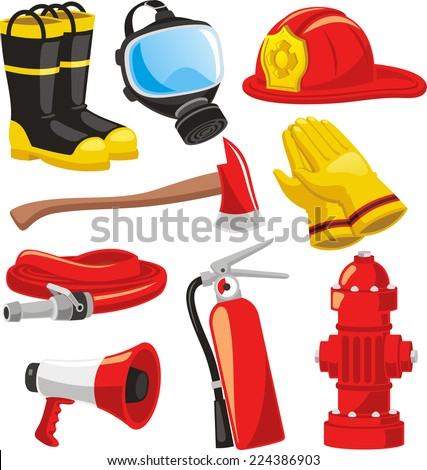 fire fighter elements set