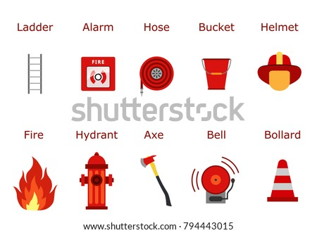 Fireman Elements - Download Free Vector Art, Stock Graphics & Images