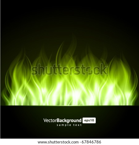 fire flame burn vector