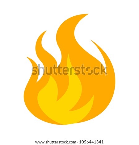 Fire flame icon #1056441341