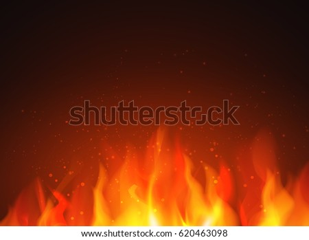 fire flames background abstract