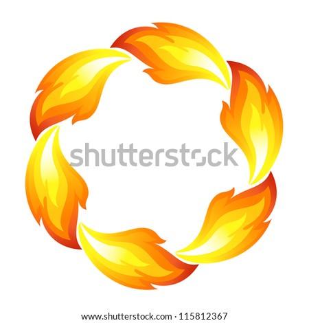 fire flower  sun