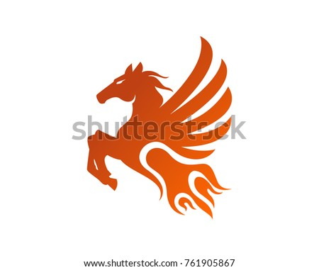 Flying Horse Download Free Vector Art Stock Graphics Images
