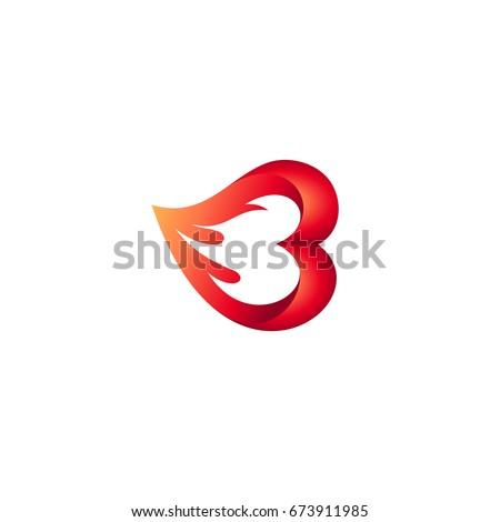 fire heart logo