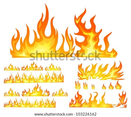 stock-vector-fire-isolated-in-white-1032