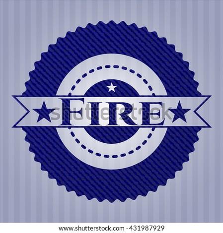Fire jean background