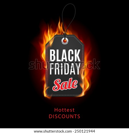 fire label black friday