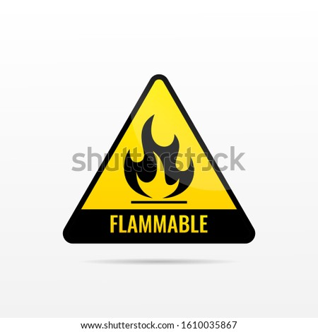fire risk or flammable material