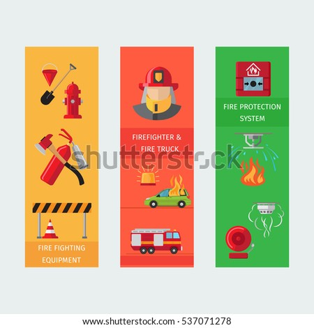 fire risk vertical flyers fire