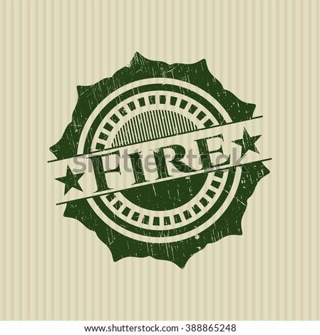 Fire rubber texture