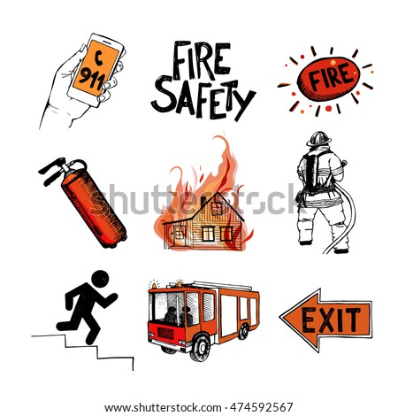 fire safety and means of
