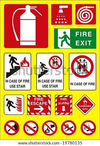 fire sign emergency