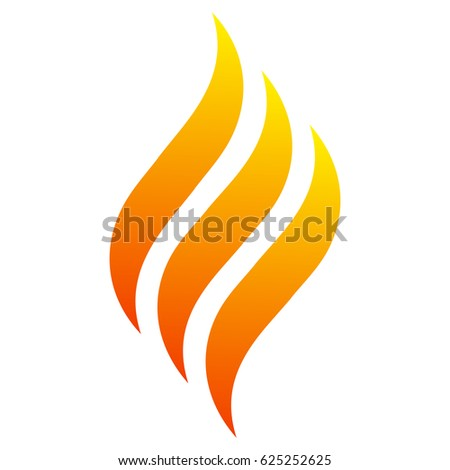 fire with three tongues of
