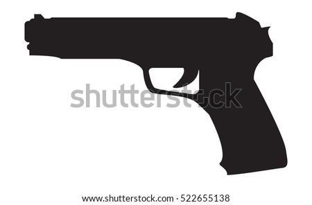 firearms silhouette of a gun