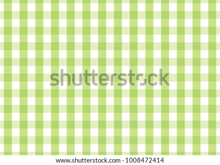 Firebrick Gingham light green and white pattern. Texture from rhombus/squares for - plaid, tablecloths, clothes, shirts, dresses, paper and other textile products.