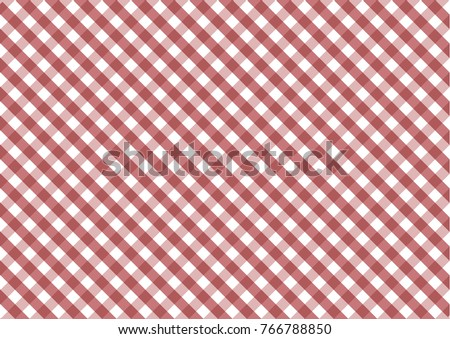 Firebrick Gingham Red And White Pattern. Texture From Rhombus/squares For    Plaid,