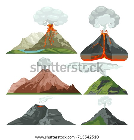 fired up volcano mountains with