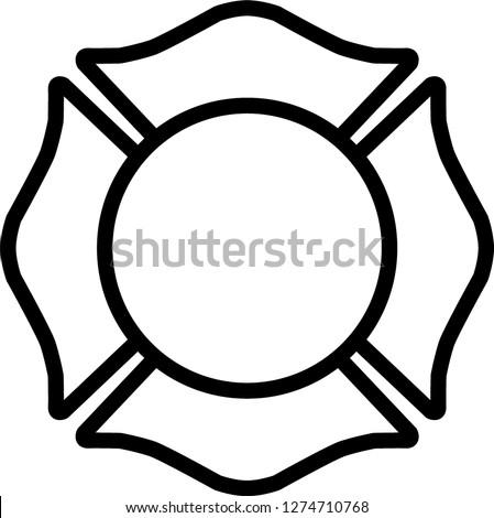firefighter emblem st florian