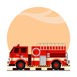 Firefighter extinguish the fire in the city with fire fighting vehicles | FIre Truck | Rescue Team