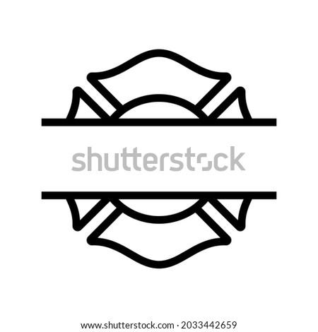 firefighter maltese cross split