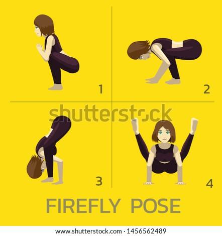 firefly pose yoga manga