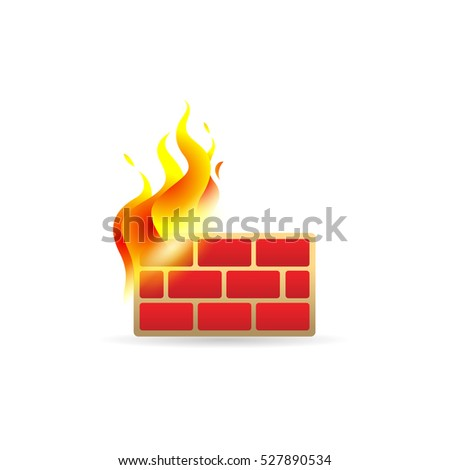 firewall icon in color