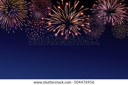 firework bursting sparkle