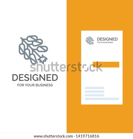 Firework, China, Chinese, Firecracker Grey Logo Design and Business Card Template