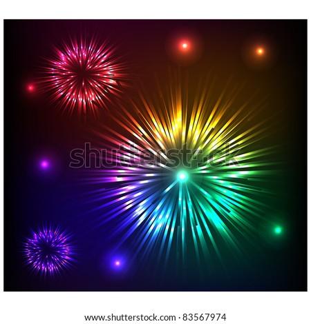 fireworksvector