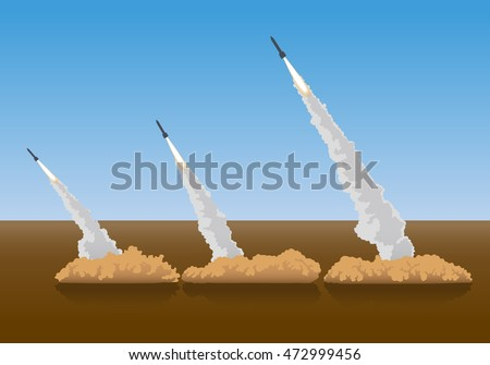firing surface to air missiles