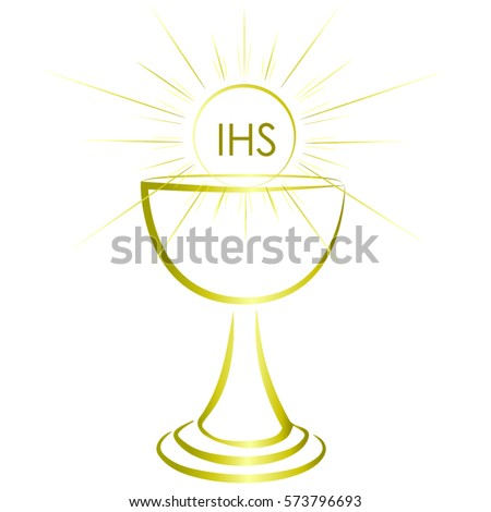 Vector Images Illustrations And Cliparts First Communion Chalice