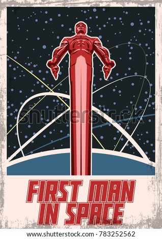 first man in space vector