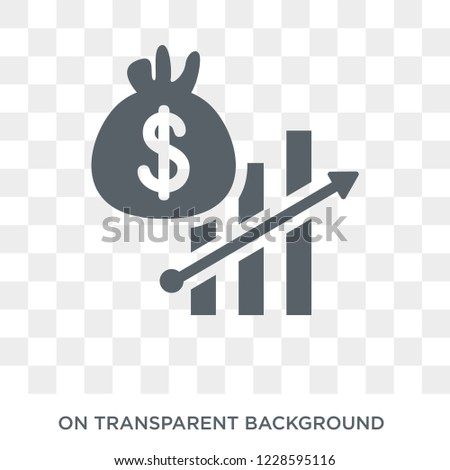 Fiscal policy icon. Fiscal policy design concept from Fiscal policy collection. Simple element vector illustration on transparent background.